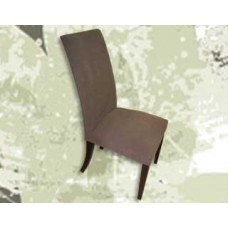 Choc Suede Dining Chair