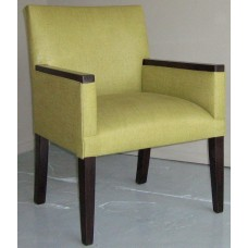 Kira Fixed Seat with Wood Top Arms