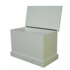 Toy Box White Enamel