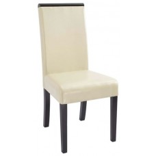 Elegant Leather Dining Chair