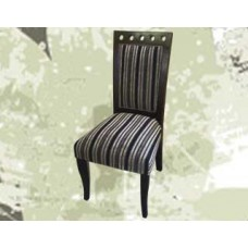 Classic Pinstripe Dining Chair