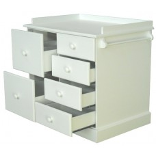 6 drawer Compactum Enamel White