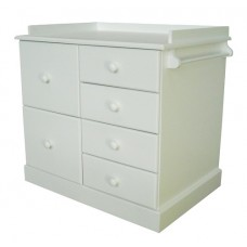 6 Drawer Compactum White