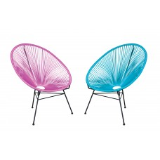 Round Radial Chair